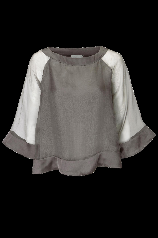 Bluse Drew Organza Top Hunkydory Skjorter & bluser til Kvinder i Brun