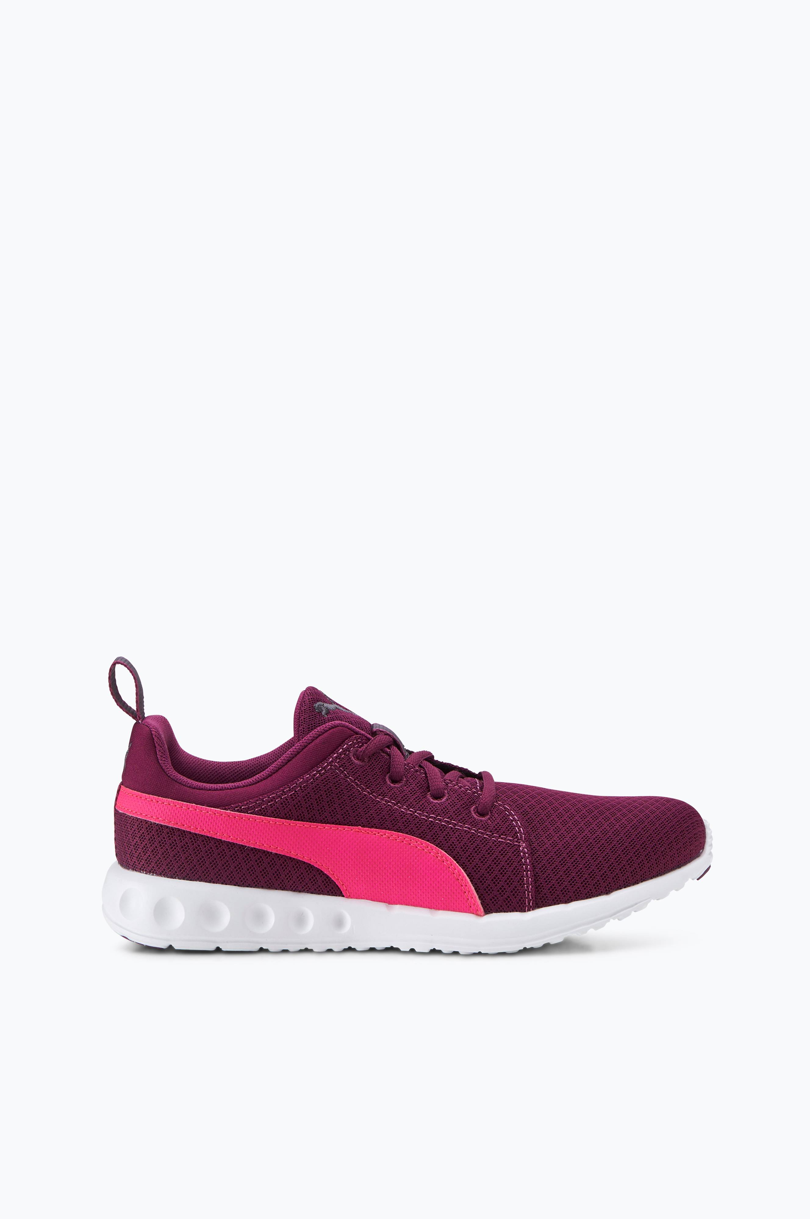 Puma Sneakers Carson Mesh Lilla Dame Ellos.no