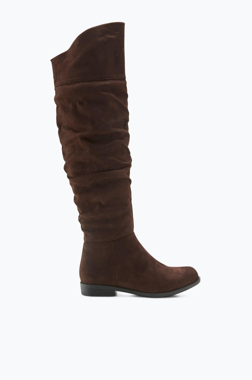 Støvler Knoxville Overknee Ellos Støvler til Kvinder i Brun