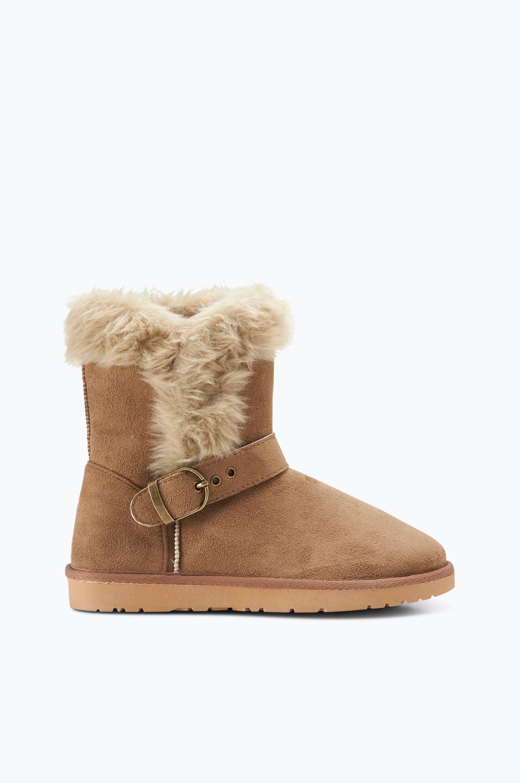 Boots Tindra Ellos Boots & snørestøvler til Kvinder i Brun