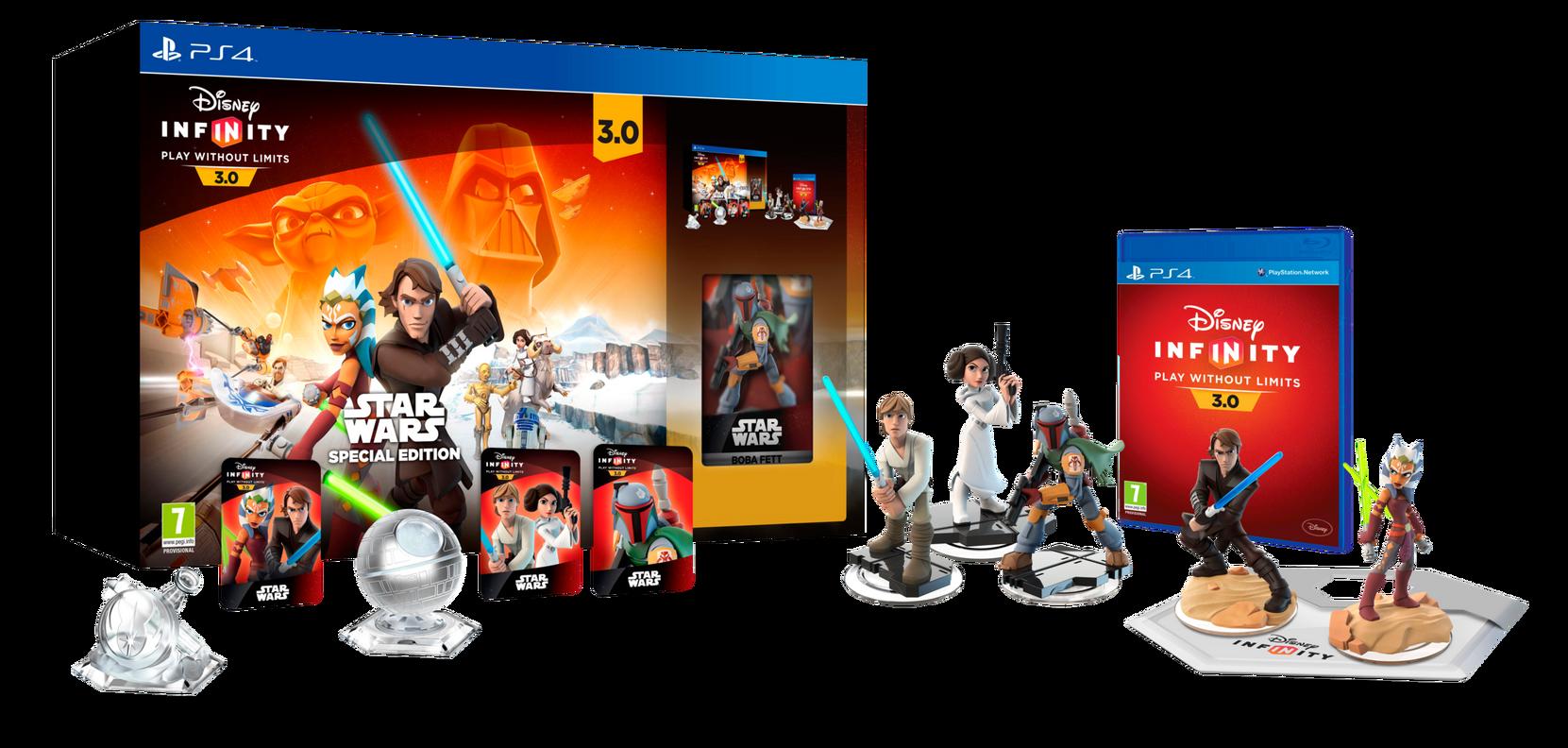 3.0 Star Wars -aloituspakkaus,Limited Edition