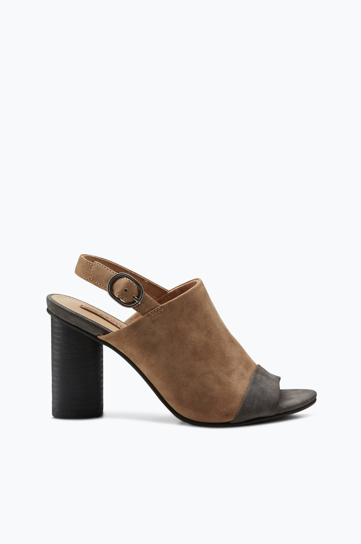 Sandal Kali Esprit Sandaler & sandaler med hæl til Kvinder i Sort/brun