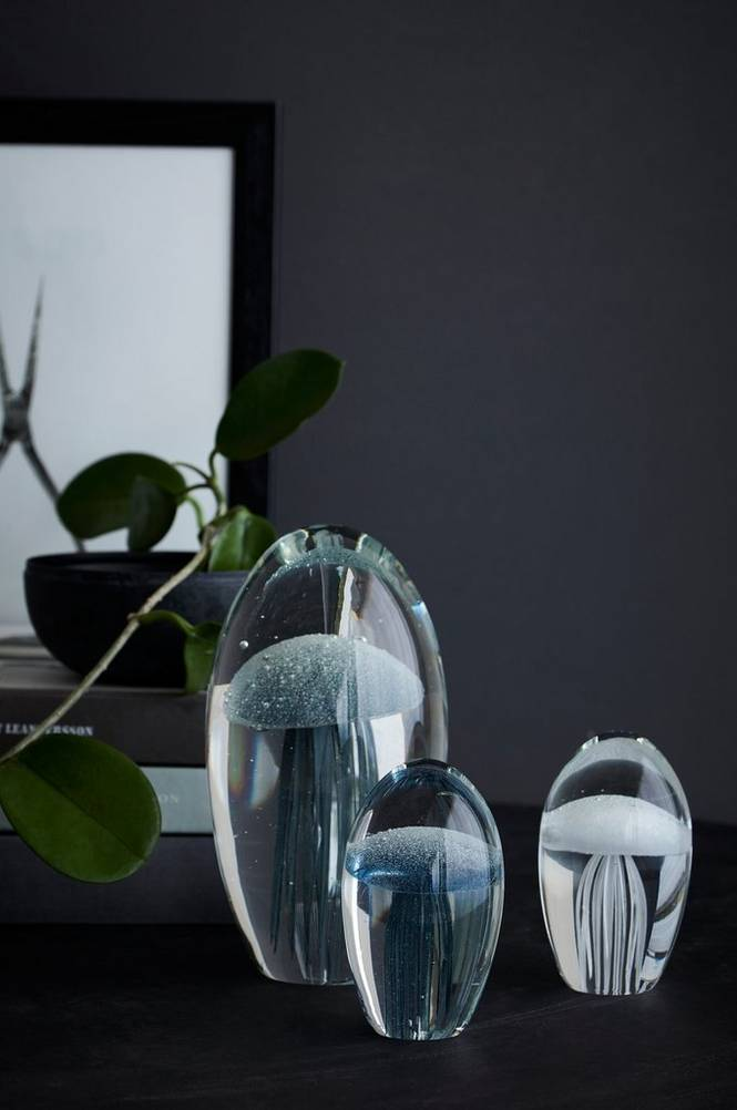 Glasmanet höjd 8,5 cm