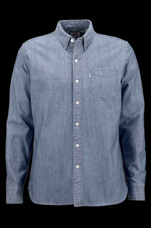 Trøje og skjorte i sæt Ellos Skjorter til Mænd i Rød + blå