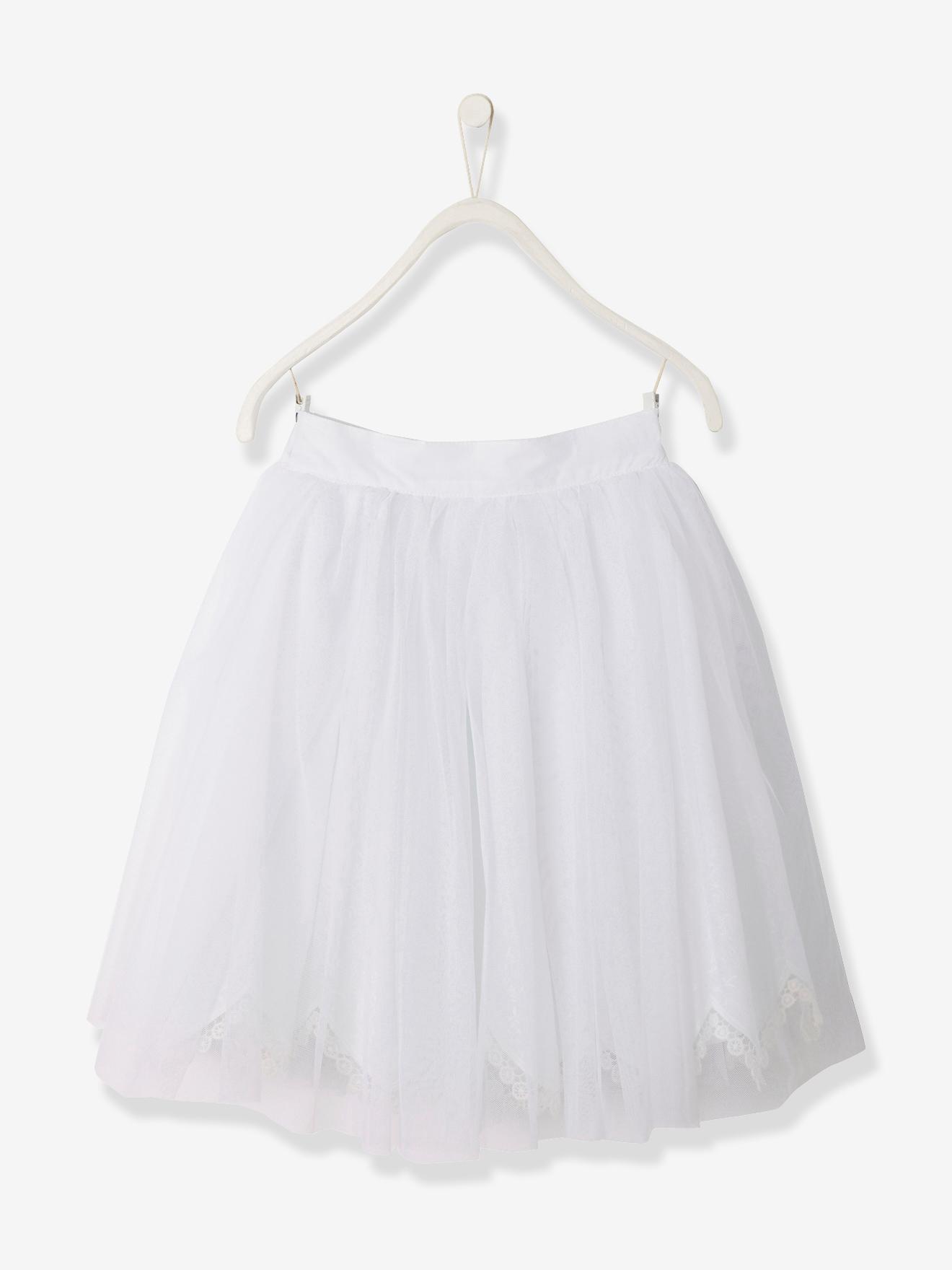 dd52b2e72a3 Tylnederdel Vertbaudet Kjoler & nederdele til Børn i Hvid