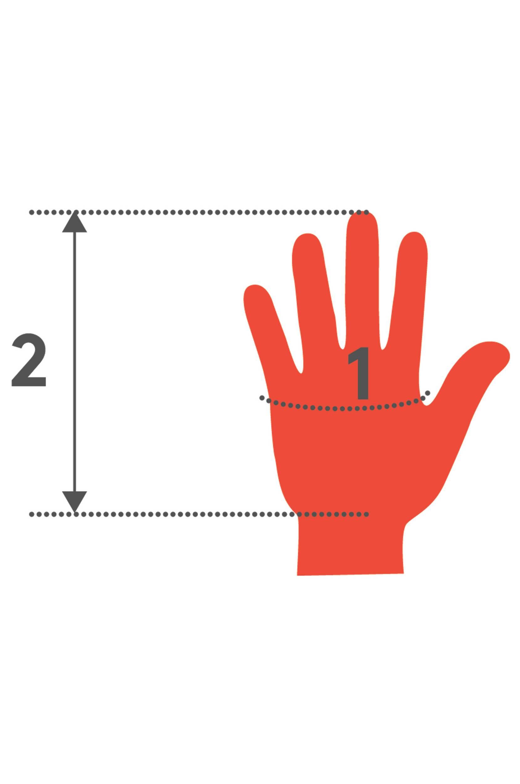 The Distinguished mens glove -käsineet