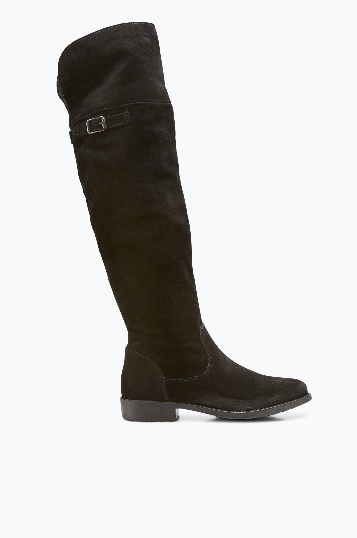 Overknee-støvle Tamaris Støvler til Kvinder i Sort