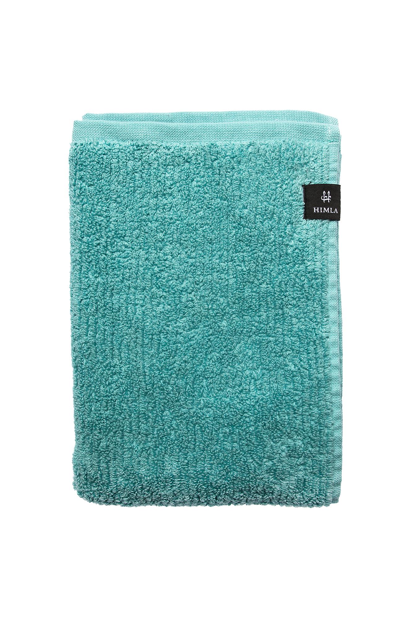 Gæstehåndklæde Ella af økologisk bomuld – 30x50 cm Himla Badeværelsestekstiler til Boligen i Oceanblå