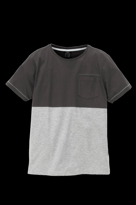 Tofarvet T-shirt Ellos T-shirts til Børn i Grå mix