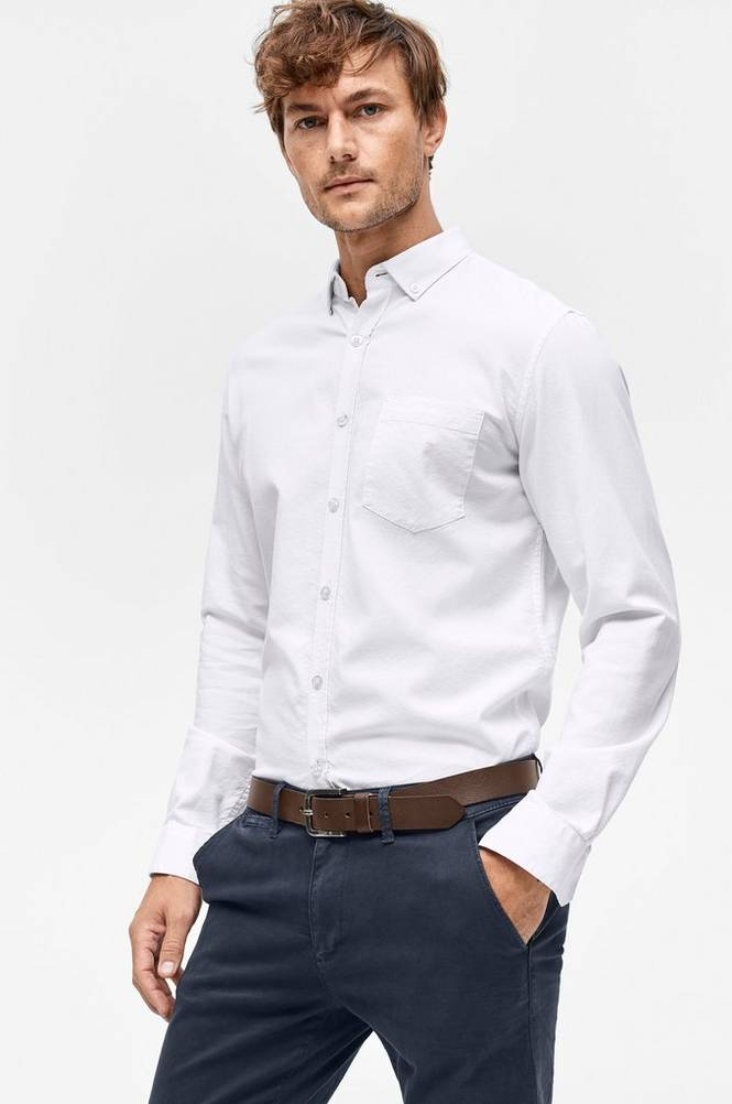 Sons of Owen Skjorte med button down-krave
