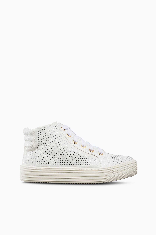 Kengät, joissa strassiniittejä