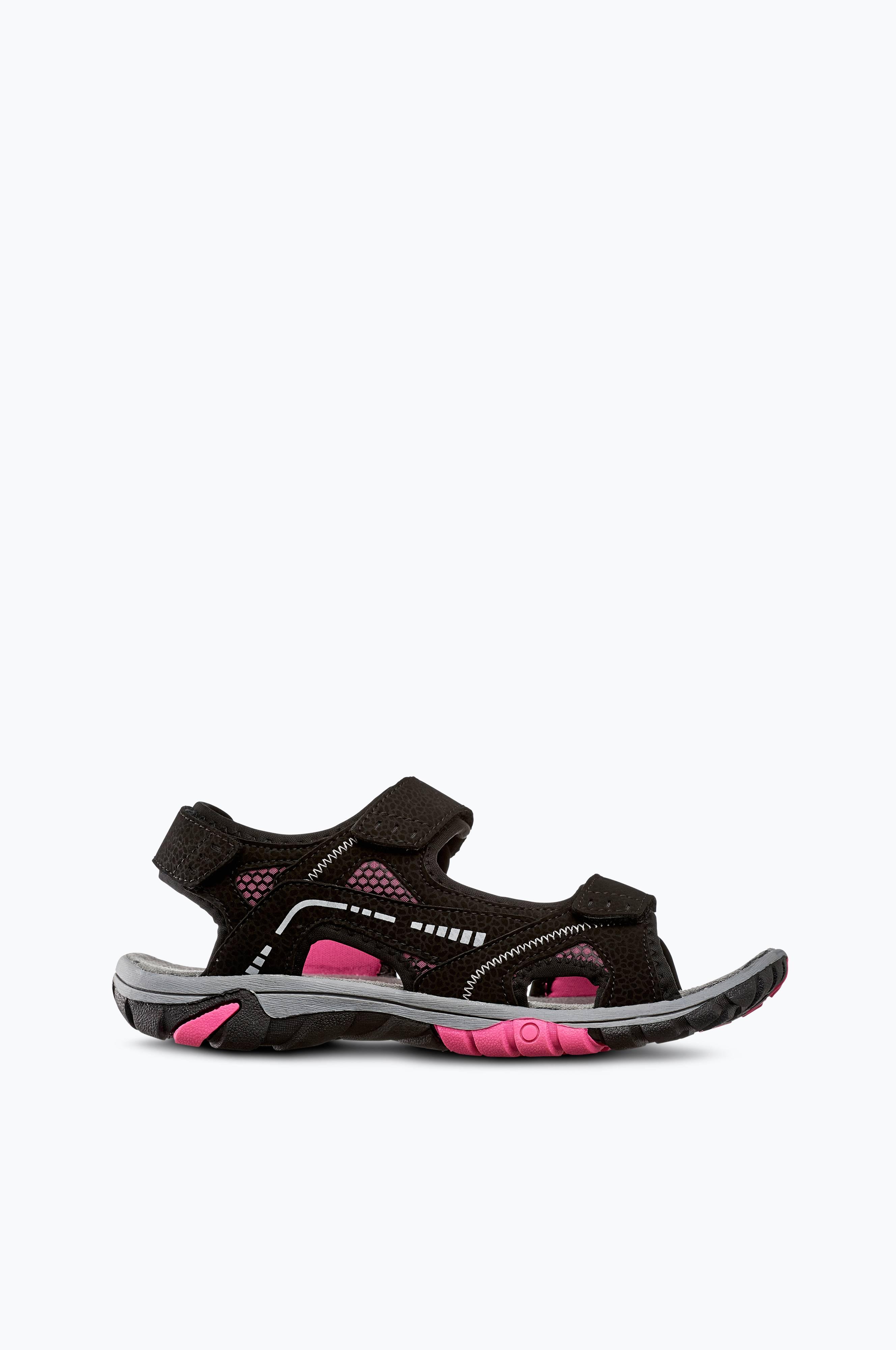 Polecat Sandaler med fotformad innersula Rosa Dam Sandaler
