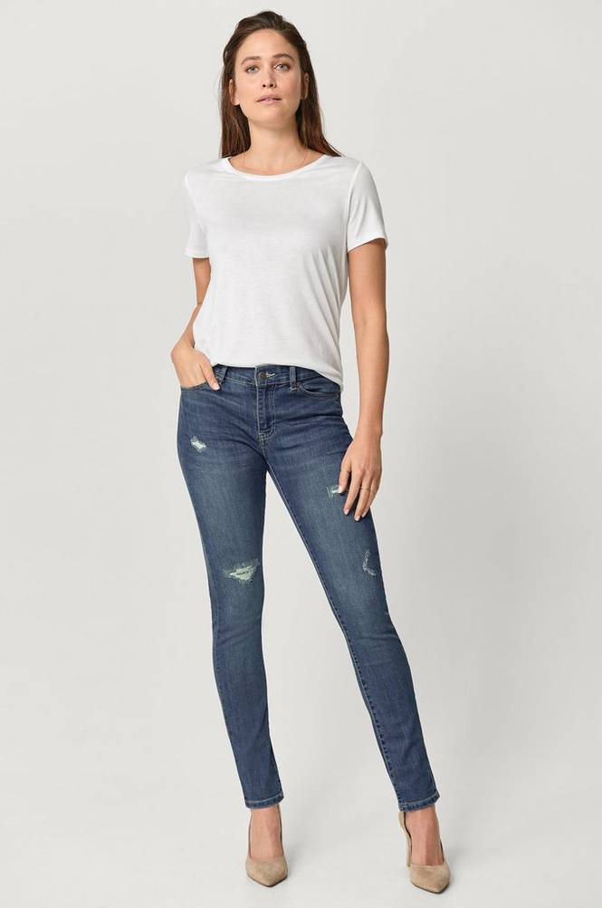 Ellos Jeans Thea Slim Ripped
