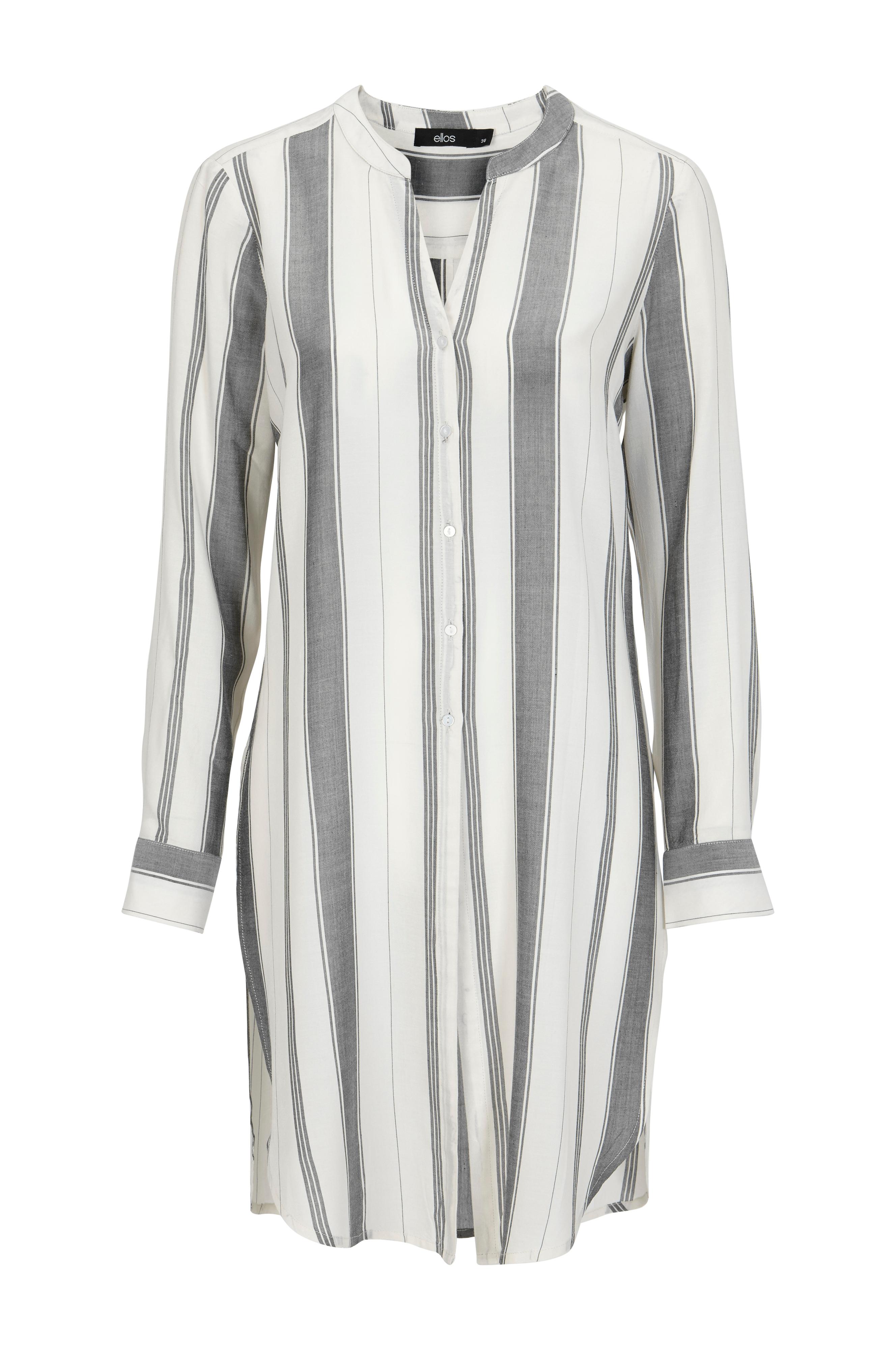 Ellos Collection Lang skjorte Emma Svart Skjorter Ellos.no