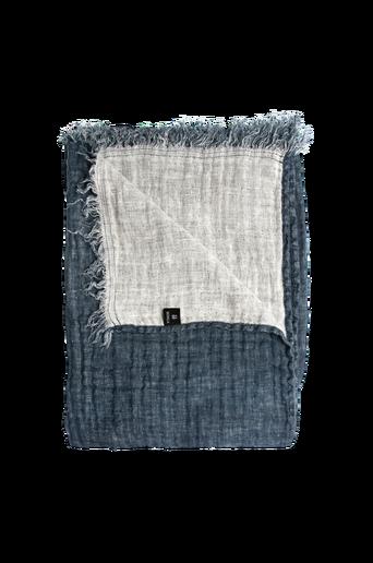 Hannelin torkkupeitto pestyä pellavaa, 130x170 cm