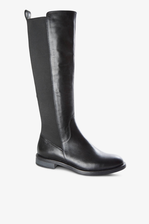 Støvle Amina med elastisk skaft Vagabond Støvler til Kvinder i Sort