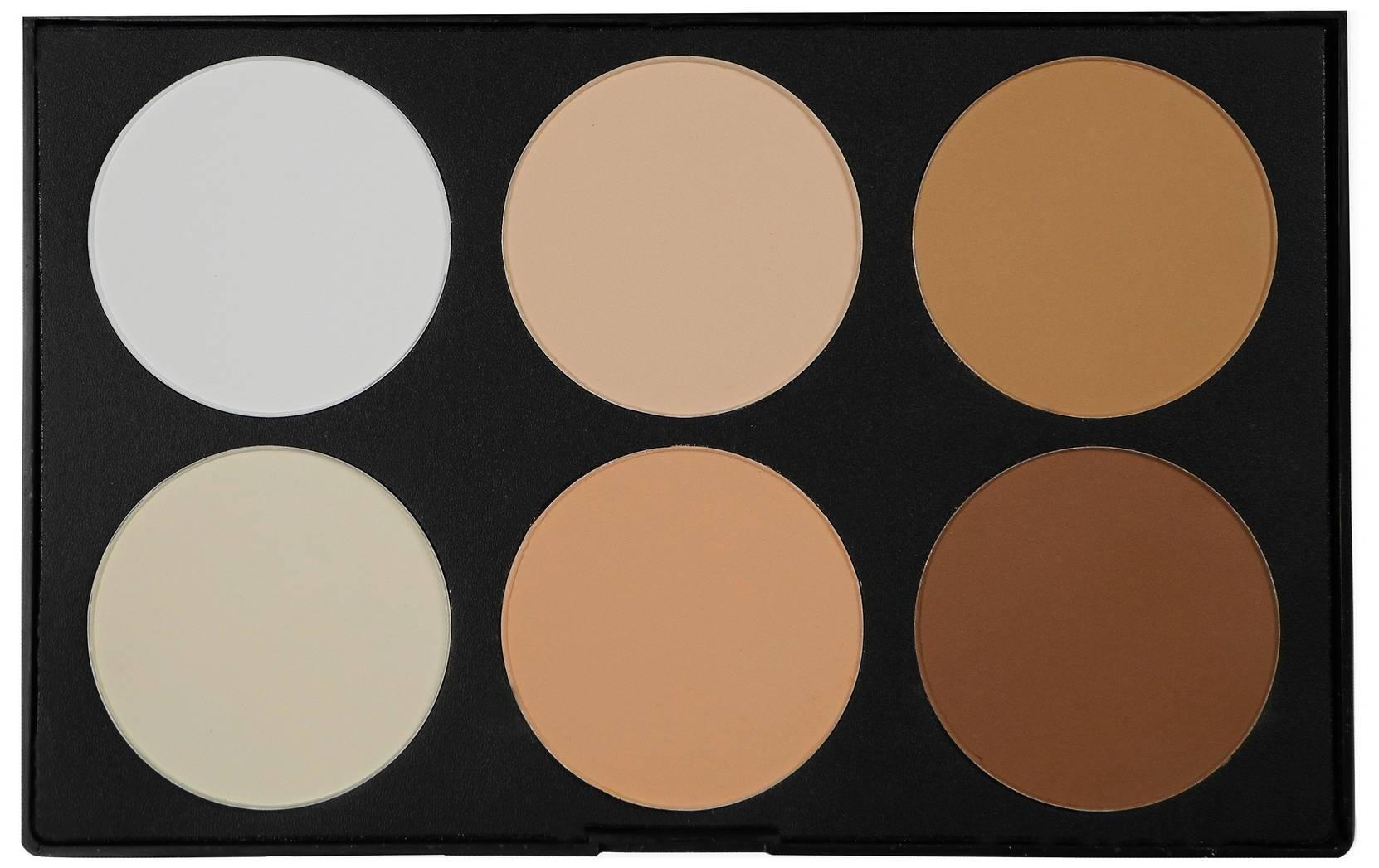 6 Color Contour Powder 72 g