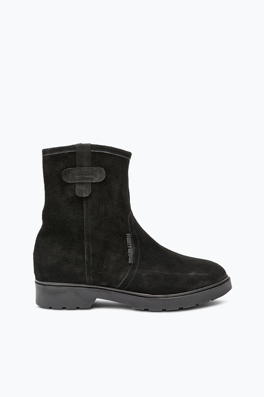 Boots Anna med varmt for Hush Puppies Støvler til Kvinder i Sort