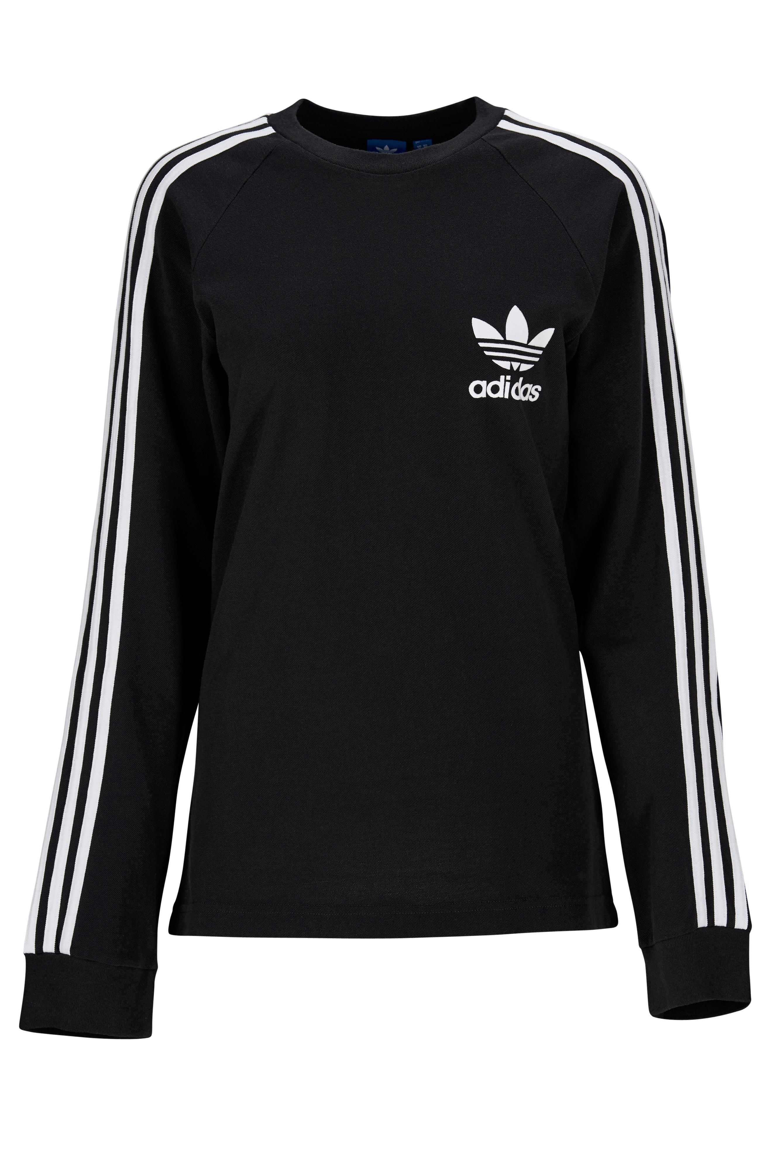 60168422391 adidas Originals T-shirt 3-stripes Pique Tee - Sort - Herre - Ellos.dk