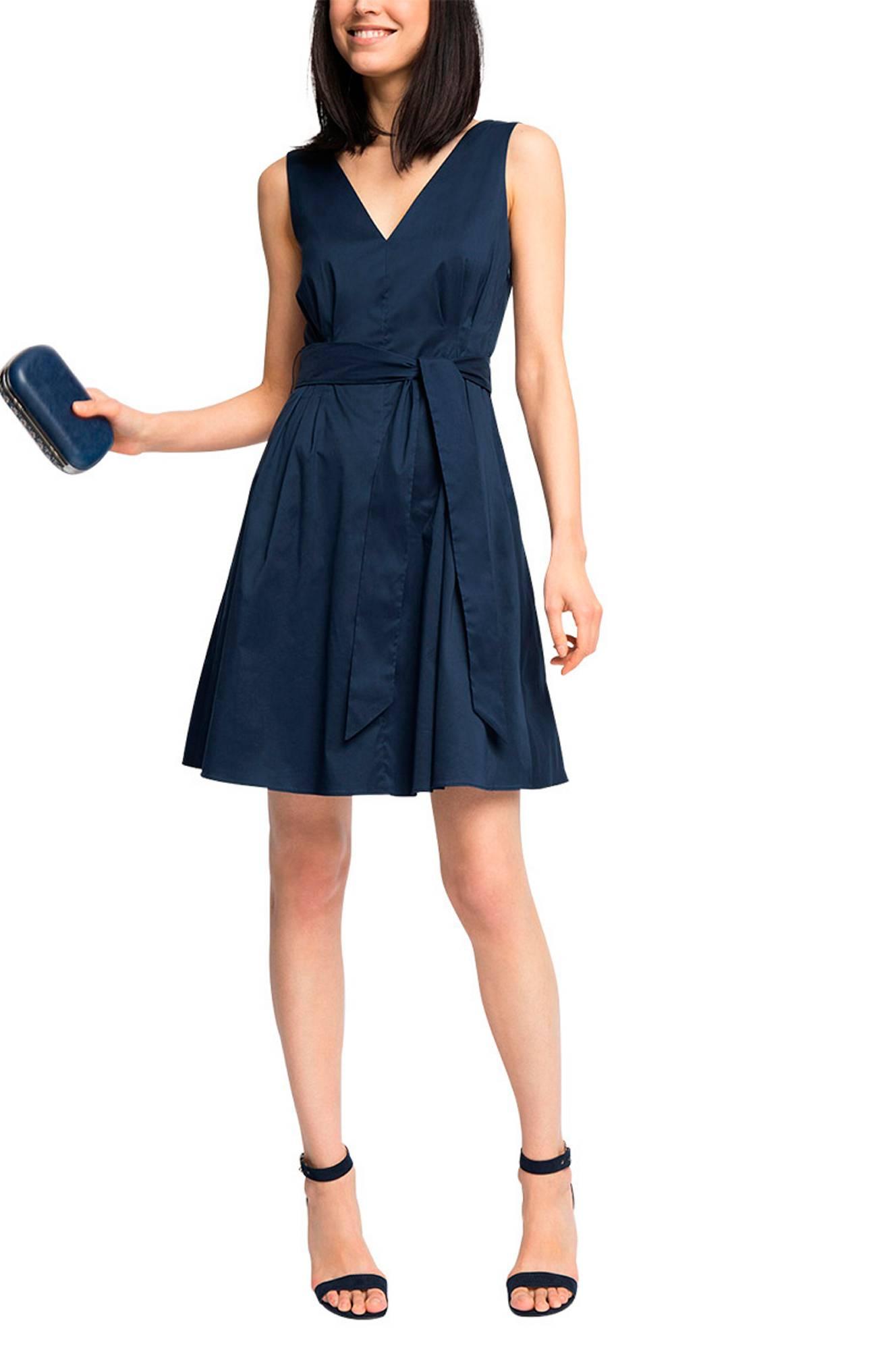 Kjole ærmeløs Esprit Kjoler til Kvinder i Marineblå