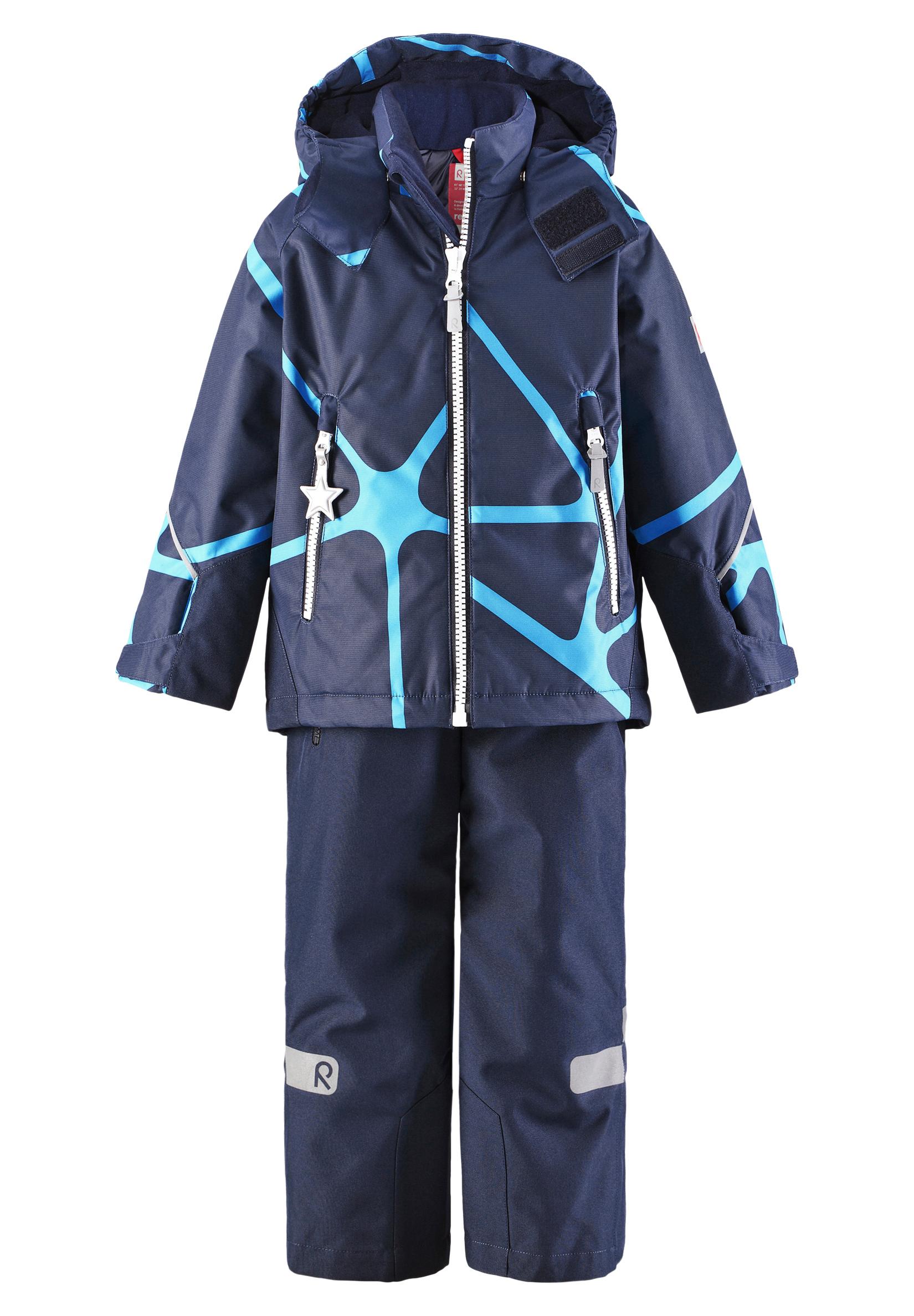 Kide-takki ja housut, tuulen- ja vedenpitävät