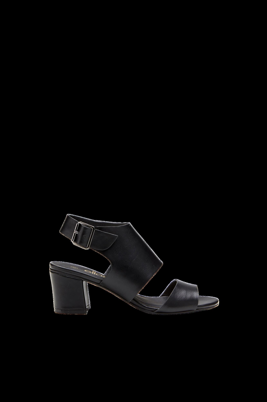 Sandal Ellos Sandaler & sandaler med hæl til Kvinder i Sort