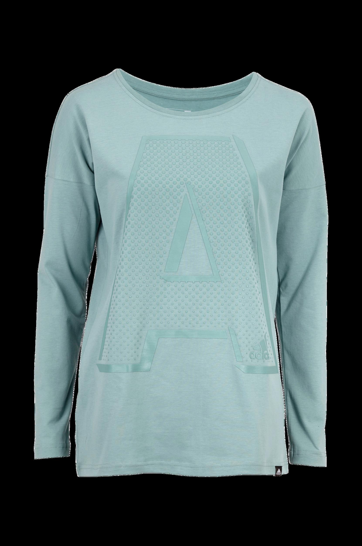 T-shirt A-letter ls adidas Sweatshirts & hoodies til Kvinder i Mintgrøn