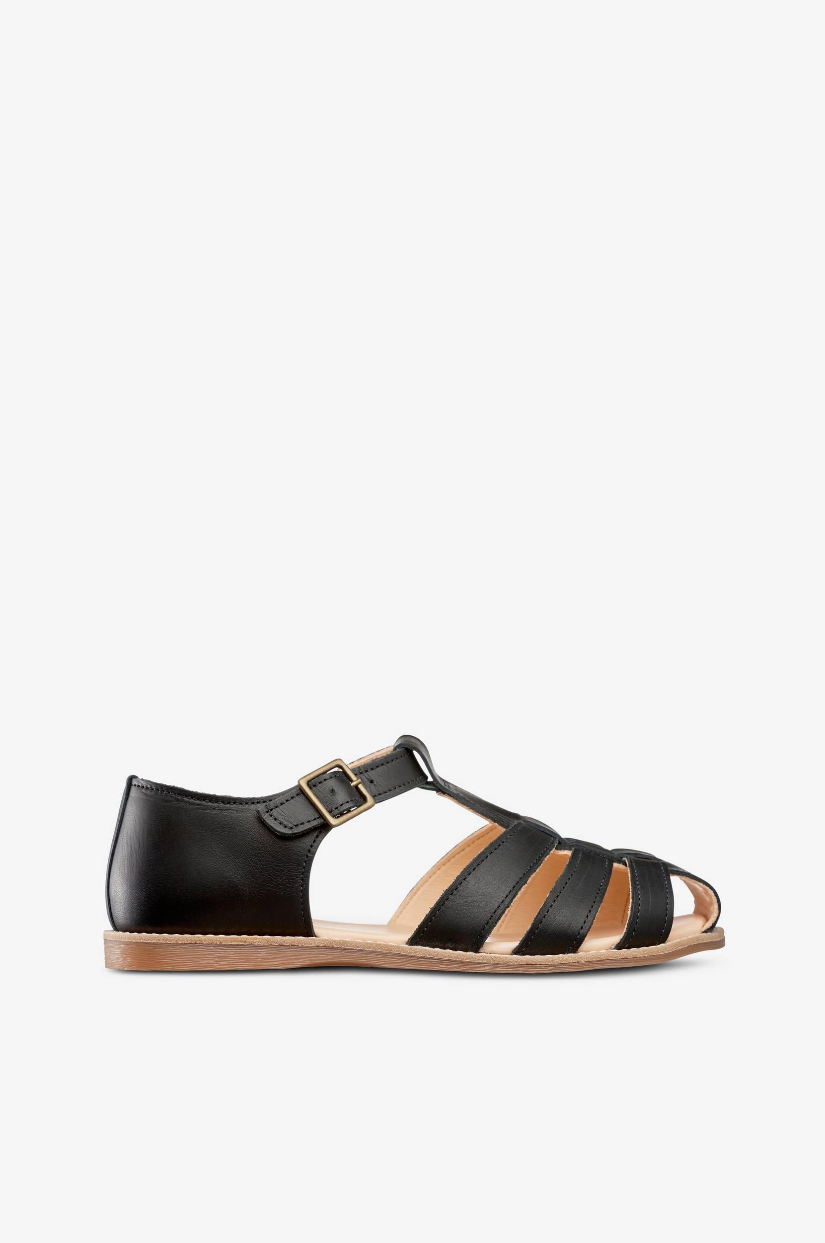 Sandaler Lotta Epi af økologisk skind