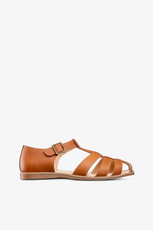Sandaler Lotta Epi af økologisk skind Kavat Sandaler & sandaler med hæl til Kvinder i Brun