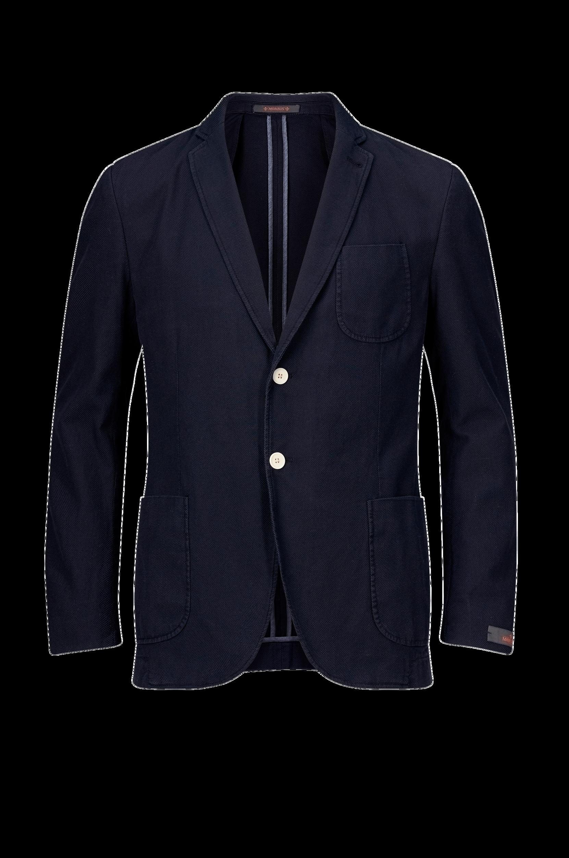 Blazer Jean Washed Cotton SB Blazer Morris Blazere & veste til Mænd i Marineblå