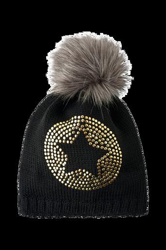 Bobble Hat Knit -pipo