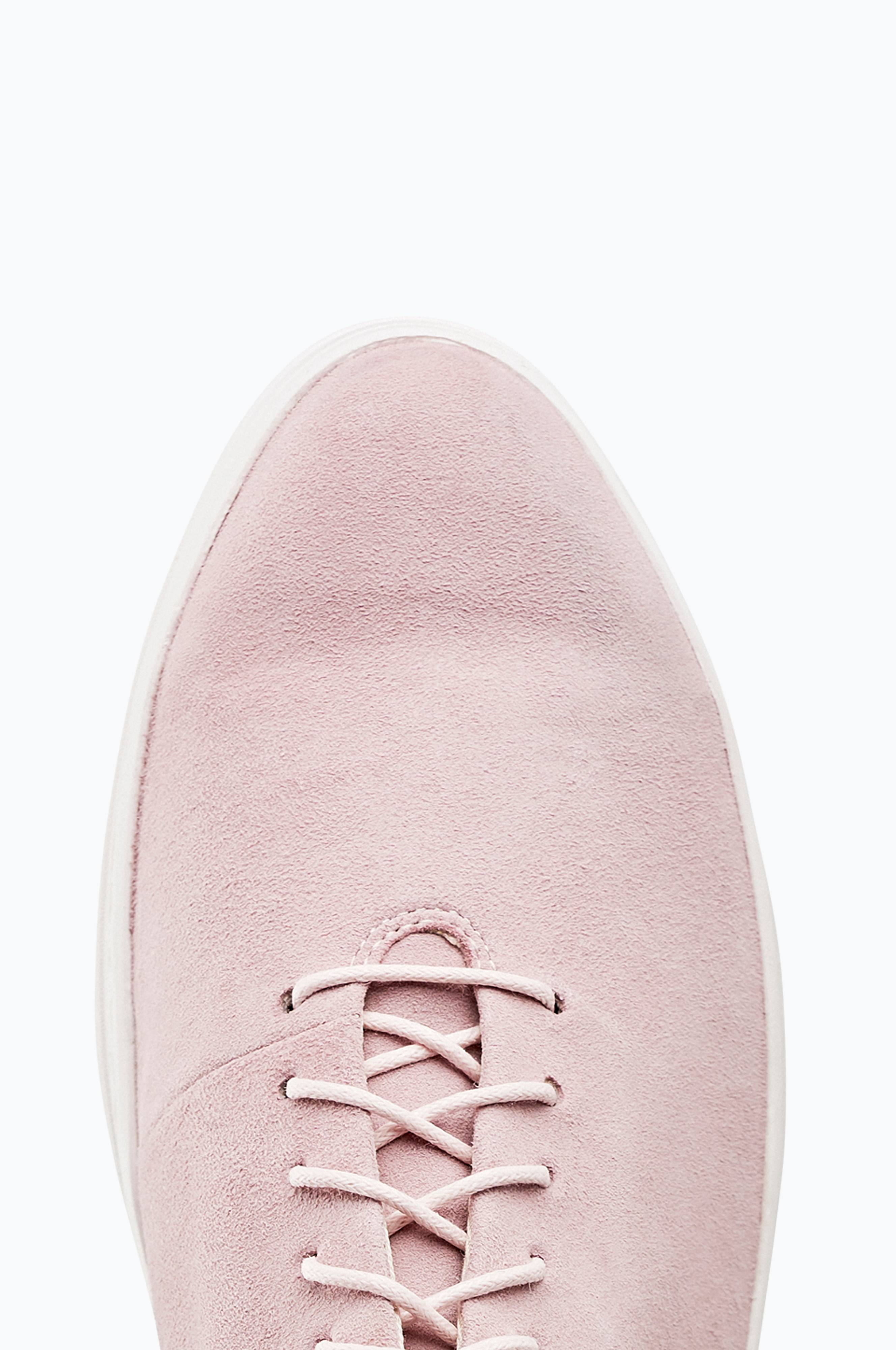 Vagabond Sneakers Camille i rosa semsket skinn Rosa Dame