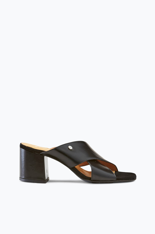 Sandal Rachael slip-in Gant Sandaler & sandaler med hæl til Kvinder i Sort
