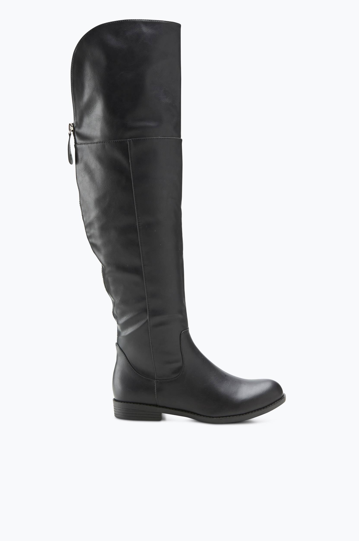 Støvler Jackson Zip Overknee Ellos Støvler til Kvinder i Sort