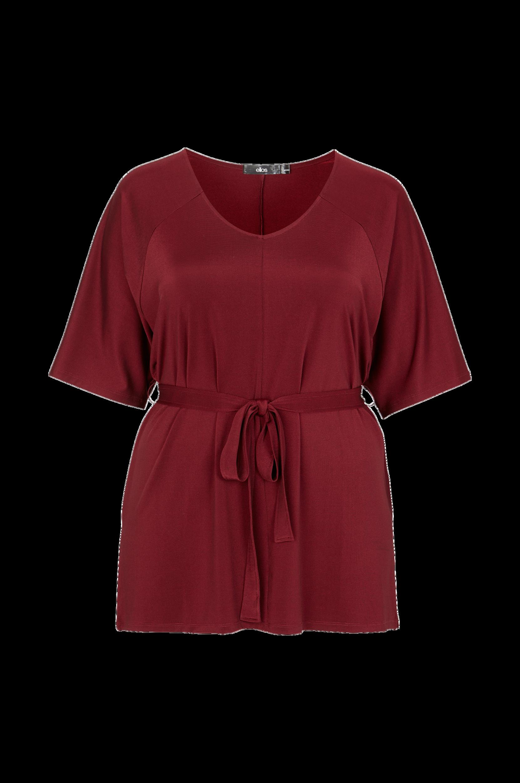 Tunika med pingvinærme Ellos Skjorter & bluser til Kvinder i Rød