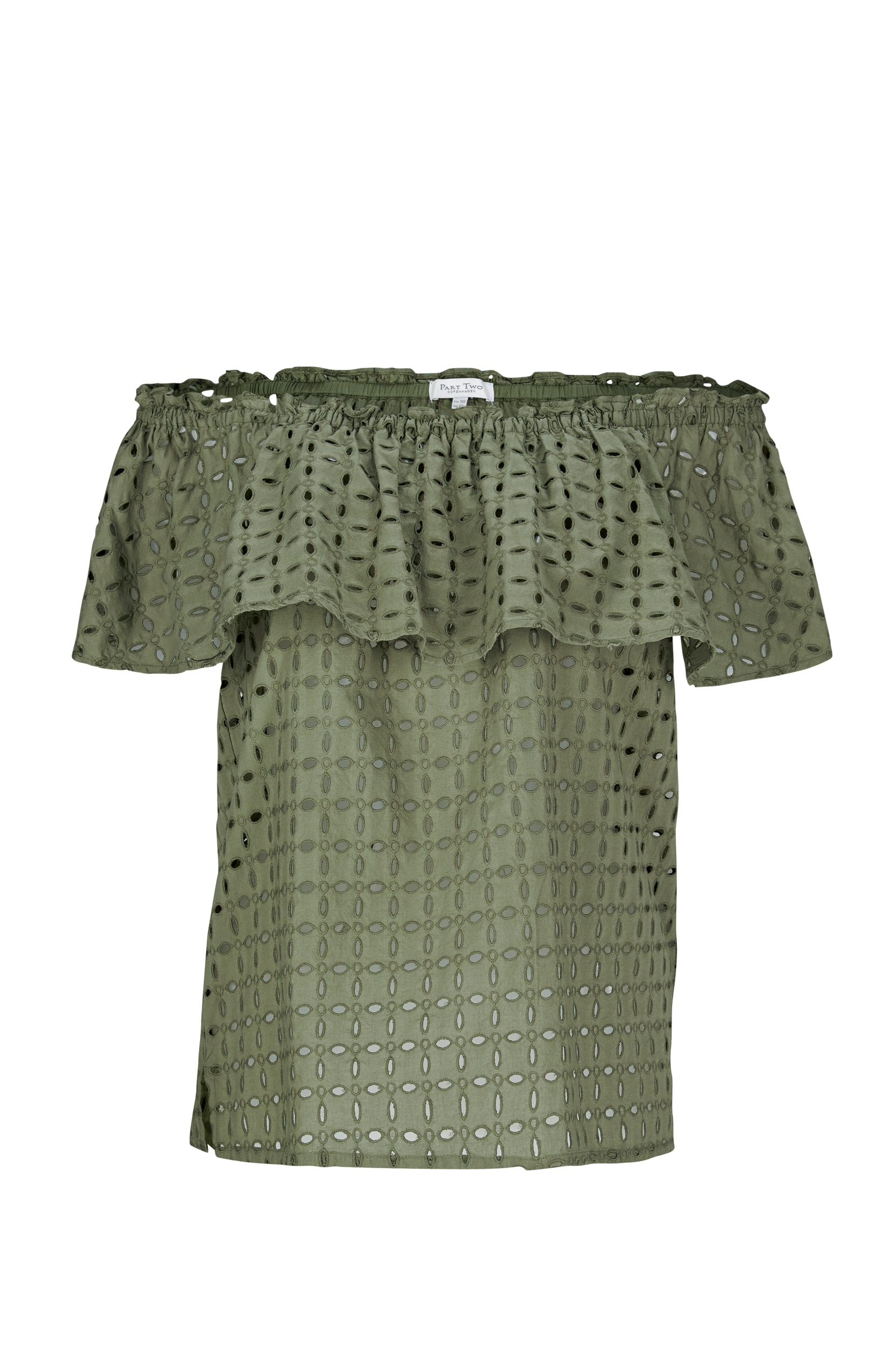 Bluse Haverly Part Two Toppe & tank-toppe til Kvinder i DEEP LICHEN GREEN