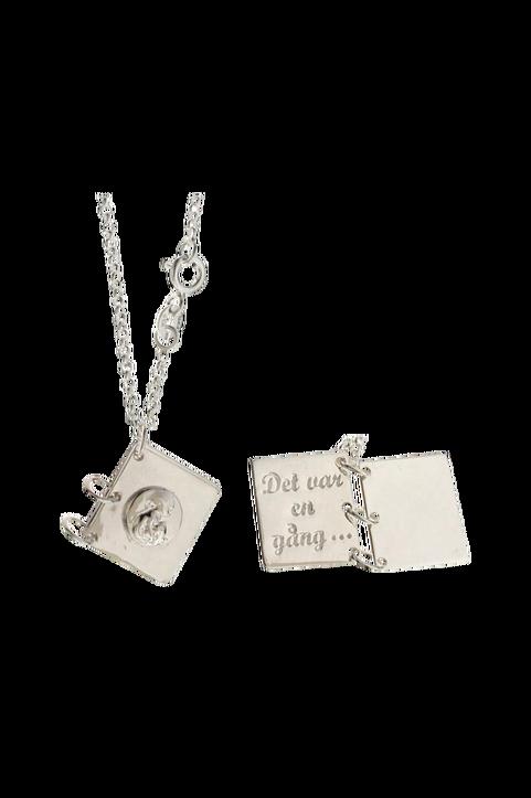 Halsband Barnkammaren Bok Silver