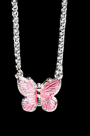 Kaulakoru, vaaleanpunainen perhonen