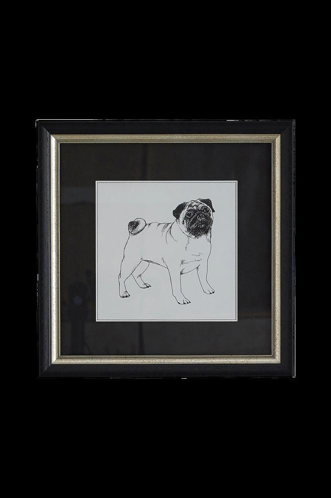 Bilde av Bilde Bulldog 35x35 cm