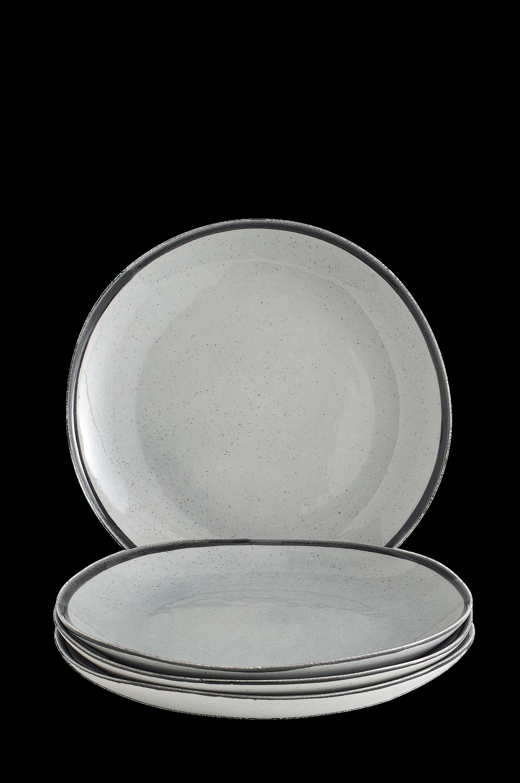 Gylla-lautaset halkaisija 28 cm, 4/pakk.