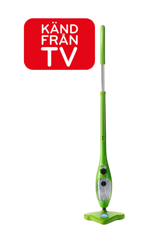 H2O Mop X5 -höyrymoppi, vihreä