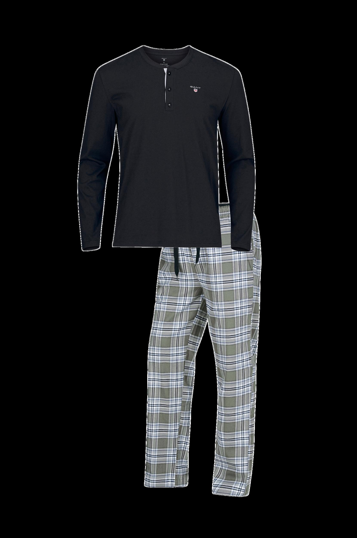 Gant Pajama Set Flannel W.Henley-pyjamasetti