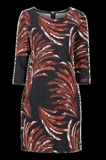Höyhenkuvioinen mekko