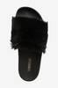 Black Fur -tohvelit