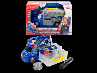 Poliisiauto ja varusteet