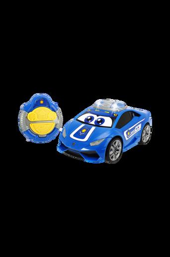 Radio-ohjattava sininen Lamborghini-poliisiauto