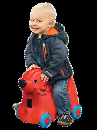 Bobby Trolley matkalaukku punainen