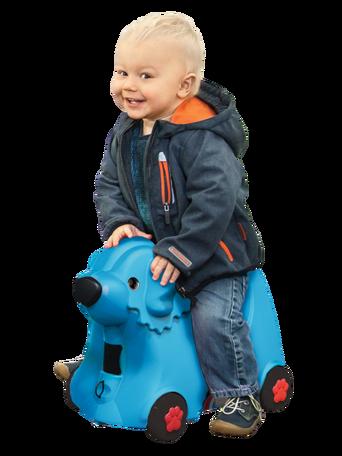 Bobby Trolley -matkalaukku sininen