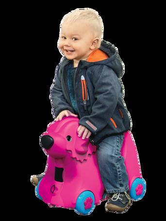 Bobby Trolley -matkalaukku roosa