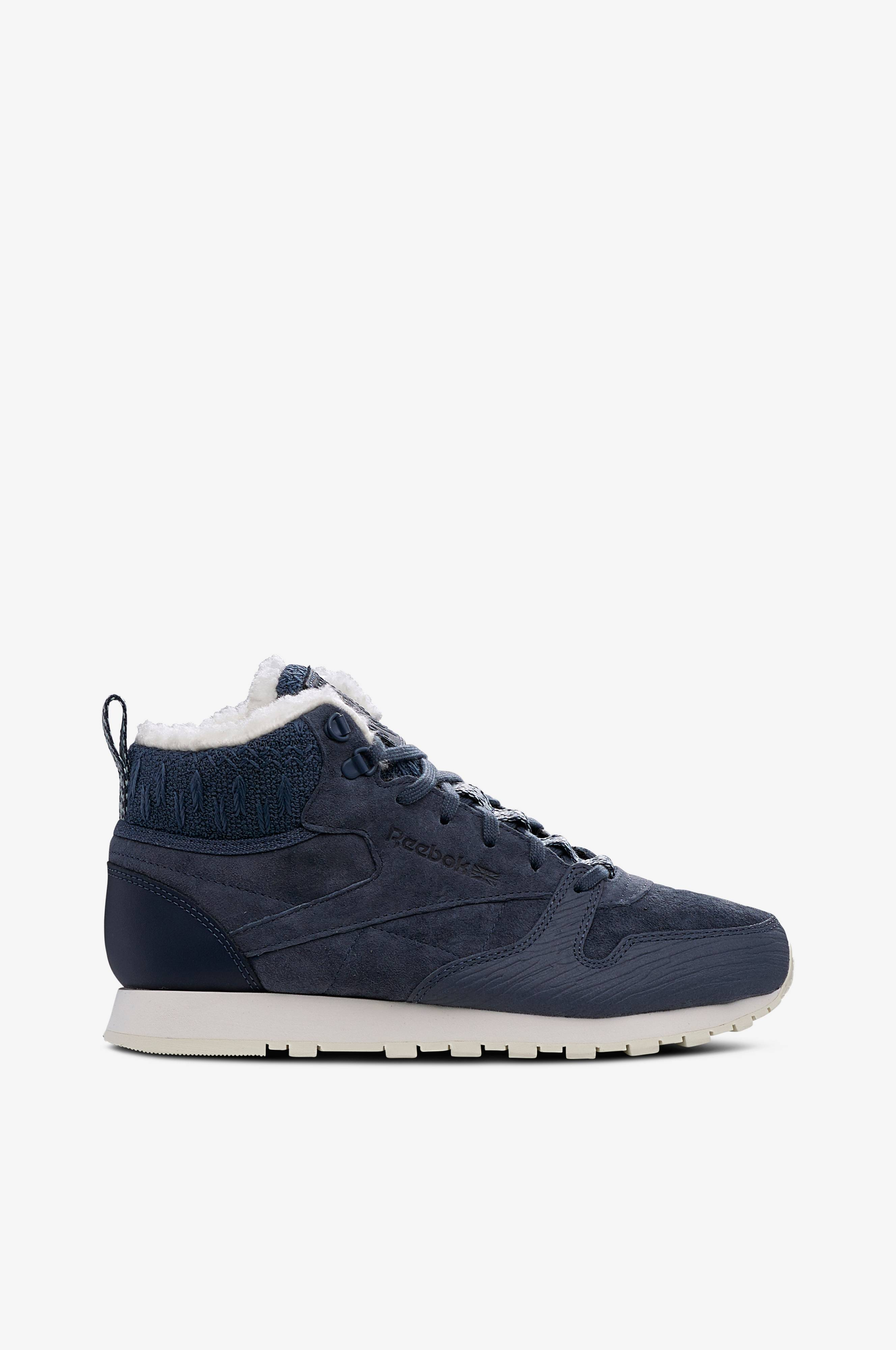 704921040b6ca Reebok Classic Sneakers Classic Leather Arctic Boot med varmt for - Blå -  Dame - Ellos.dk
